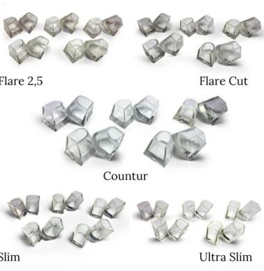 Накаблучники DSC (упаковка 10 пар)